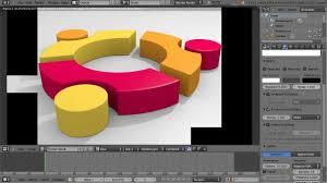 ubuntu logo in blender 3d youtube