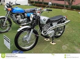 suzuki samurai motorcycle two classic japanese motorcycles lined up editorial photography