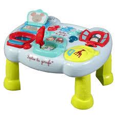 table activité bébé avec siege table d activite bebe avec siege 11 la girafe mon