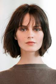 light and wispy bob haircuts for those who can t quite commit to bangs especially in the