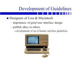 human interface design acs 367 interface design introduction text overview galitz