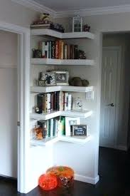 Corner Bookcase Ideas Small Corner Bookshelves Abundantlifestyle Club
