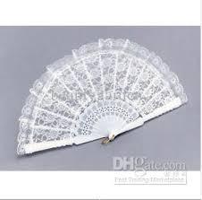 cheap wedding fans new fashion wedding white lace fan fans fancy dress geisha