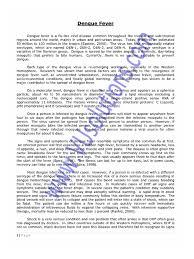 Esl Essay Examples Essay Example English Essay Com Dengue Fever Ba English Essay