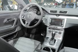 Volkswagen Cc 2014 Interior Facelifted 2013 Volkswagen Cc Makes Its World Premiere At The La