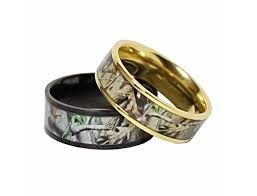 camo wedding ring sets for him and vintage camo wedding rings rikof
