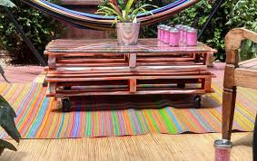 How To Make Patio Furniture Out Of Pallets Making 3 Easy Diy Tables Out Of Pallets 99 Pallets