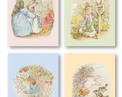 beatrix potter rabbit nursery rabbit nursery etsy
