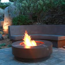Concrete Fire Pit by Concrete Outdoor Fire Pits In San Francisco Ca Mark Concrete