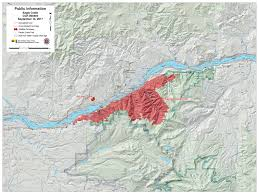 Oregon Forest Fires Map by Sept 14 Eagle Creek Fire Update With Map