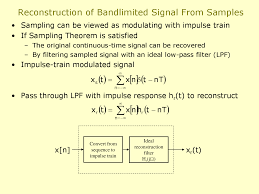 discrete time signal processing of continuous time signals digital