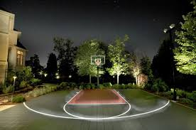 Build A Basketball Court In Backyard Be A Good Sport Build A Backyard Basketball Court