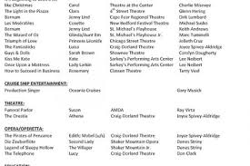 musical theatre resume template resume template and professional