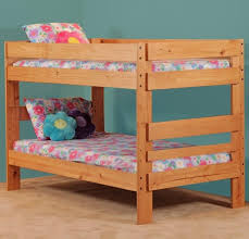Simply Bunk Beds  Twin Over Twin Bunk Bed Royal Furniture - Twin over twin bunk beds