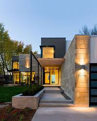 Best House Architecture Ideas Images On Pinterest - Home outdoor lighting