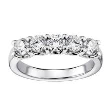 Wedding Ring And Band by 1 To 1 5 Carats Women U0027s Wedding Bands Shop The Best Bridal