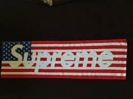 Usa Flag For Sale Supreme Supreme American Flag Towel Size One Size Supreme For