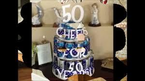 ideas for male 50th birthday gift diy birthday gifts