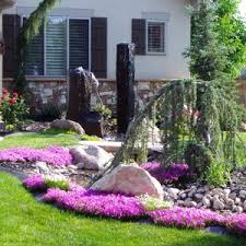 Front Yard Landscaping Ideas Without Grass Diy Landscaping Ideas For Front Yard Stle Andrea Outloud