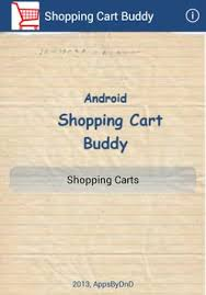 shopping cart apk shopping cart buddy apk free shopping app for android