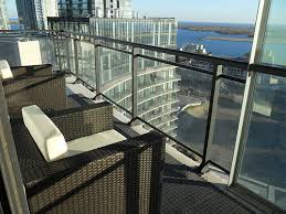 why toronto condo balconies lack nice patio furniture blog