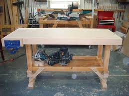 woodworking bench top design plans diy free download free wooden