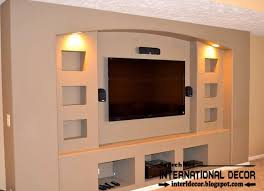 built in tv wall modern built in tv wall unit designs 4 image