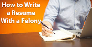If A Dog Was Filling Out A Resume How To Write A Resume With A Felony