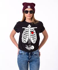 Halloween Maternity Skeleton Shirt by Halloween Maternity Shirt Skeleton Shirt Maternity Shirt