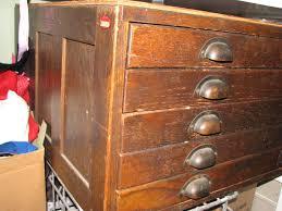 Vintage Oak Filing Cabinet Antique Wooden Filing Cabinets With Flat File Cabinet Wood New