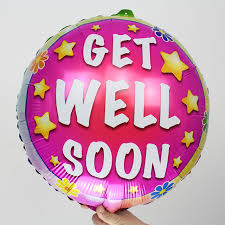 get well soon cake pops aliexpress buy helium balloons get well balloons foil get