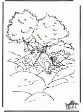 dibujo para colorear david y goliat img 25958 coloring home