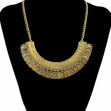 golden necklace women images 2 colors boho gypsy beachy fashion silver golden necklaces jpg