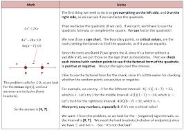 quadratic inequalities she loves math