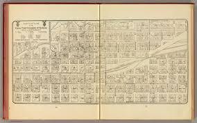 Spokane Washington Map Spokane David Rumsey Historical Map Collection