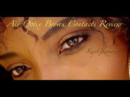 air optix color contact lenses review color brown
