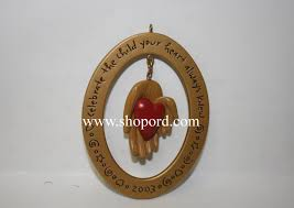 hallmark adoption 2003 ornament qxg2497