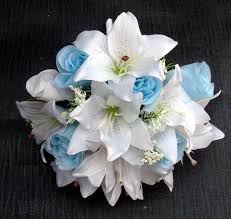 wedding flowers blue and white light blue wedding flowers the extraordinary 50th anniversary cakes