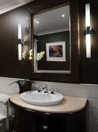 Small Powder Rooms Small Powder Room Design Wood And Stone Collaboration Accent Wall