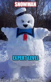 Snowman Meme - stay puff imgflip