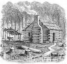 log cabin drawings how to build a log cabin just like the pioneers did off the