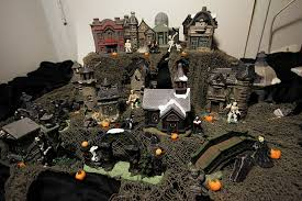 other my dollar tree halloween village