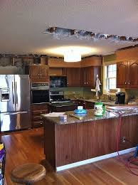 Low Priced Kitchen Cabinets Popcorn Ceiling Makeover Low Budget Big Impact Hometalk