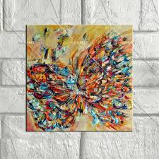 aliexpress com buy butterfly canvas oil paintings vintage home