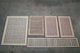Floor Grates by Made To Your Size Large Wood Floor Grate Wall Register Floor Vent