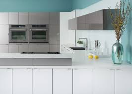 Ksi Kitchen Cabinets Wired Mercury And White High Gloss Acrylic U003d Futuristic Chic