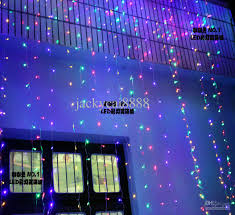2017 led lights curtain lights decoration garden lights