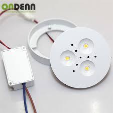 led under cabinet lighting 3000k 10pcs lot led under cabinet lighting led puck lights 3000k 4000k