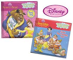 Bathtub Books Amazon Com Disney Princess Bath Books Belle And Snow White