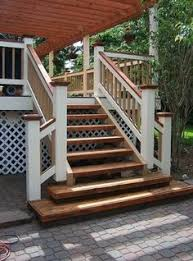 Outside Banister Railings Wood Outdoor Steps Improvements And Repairs Front Porch Steps